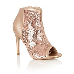 Dolcis - Rose Gold 'Alair' ankle boots