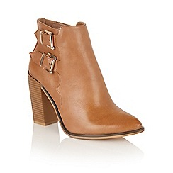 Dolcis - Tan 'Santana' ankle boots
