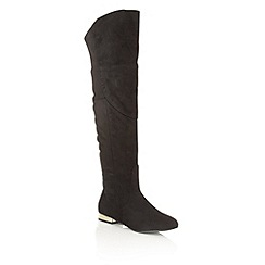 Dolcis - Black 'Katie' over the knee boots