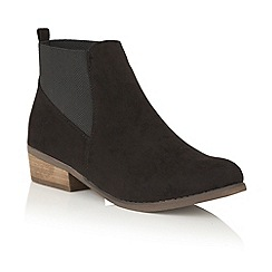 Dolcis - Black 'Jessie' heeled ankle boots