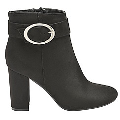 Dolcis - Black 'Fortune' ladies high heeled boots