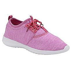Dolcis - Fuchsia 'Amara' ladies lace up casual sports shoes