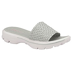 Dolcis - Silver 'Ruth' ladies casual comfort sandals