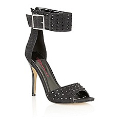 Dolcis - Black 'Chester' stiletto sandals