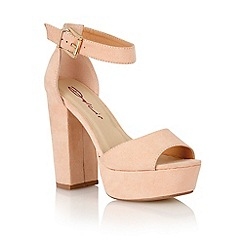 Dolcis - Nude 'Cardiff' ladies heeled sandals