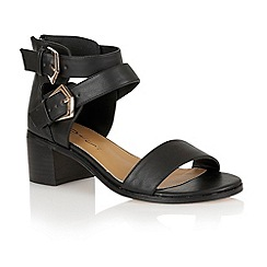 Dolcis - Black 'Ashby' ladies sandals