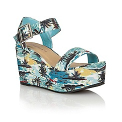 Dolcis - Aqua Tenerife' ladies wedge sandals