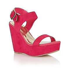 Dolcis - Magenta 'Nice' ladies wedge sandals
