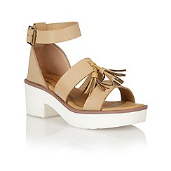 Dolcis - Beige 'Dusseldorf' ladies sandals