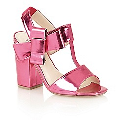 Dolcis - Fuchsia 'Abella' high heeled sandals
