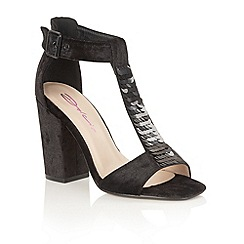 Dolcis - Black 'Gigi' heeled sandals
