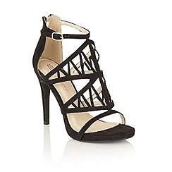 Dolcis - Black 'Perri' heeled sandals