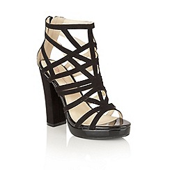 Dolcis - Black 'Petra' heeled sandals