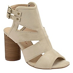 Dolcis - Stone 'Valarie' ladies high heeled strappy sandals