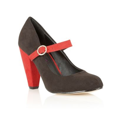 Dolcis Black mary jane court shoes - . -