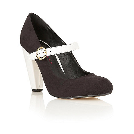 Dolcis - Black mary jane court shoes