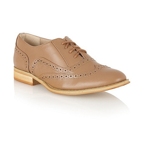 Dolcis - Brown lace up brogues shoes