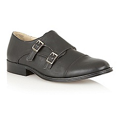 Dolcis - Black 'Paris' monk strap loafers