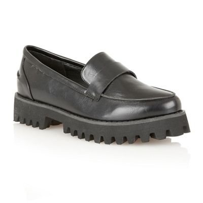 Dolcis Black ´Warsaw´ chunky sole loafers - . -