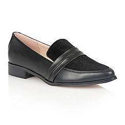 Dolcis - Black 'Perla' slip-on loafers