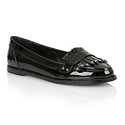 Dolcis - Black 'Rotterdam' ladies loafers