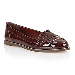 Dolcis - Burgundy 'Rotterdam' ladies loafers