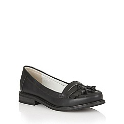 Dolcis - Black 'Frankfurt' slip-on loafers