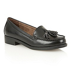 Dolcis - Black 'Faye' slip-on loafers