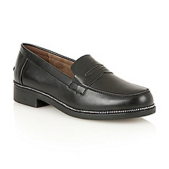 Dolcis - Black 'Fawn' slip-on loafers