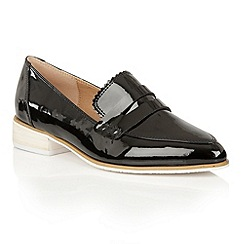 Dolcis - Black 'Cara' block heeled loafers