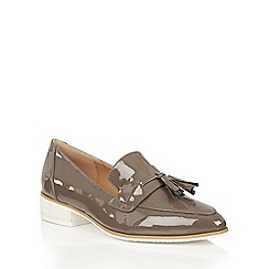 Dolcis - Mink 'Carina' small block heeled loafers