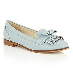 Dolcis - Blue 'Jessica' slip-on flat loafers
