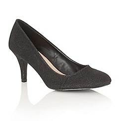 Dolcis - Black 'Korina' court shoes