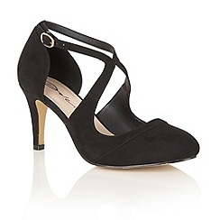 Dolcis - Black 'Sage' court shoes