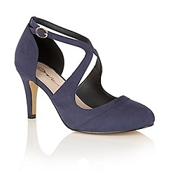 Dolcis - Blue 'Sage' court shoes