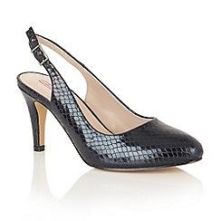 Dolcis - Black 'Shakira' court shoes