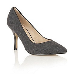 Dolcis - Black 'Tiana' court shoes