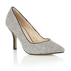 Dolcis - Grey 'Tiana' court shoes