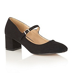 Dolcis - Black 'Kiko' court shoes