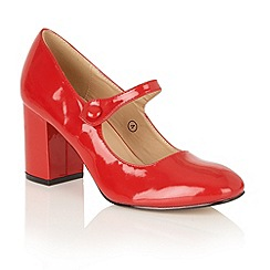Dolcis - Red 'Kyra' court shoes