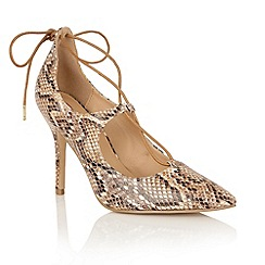 Dolcis - Brown 'Olya' court shoes