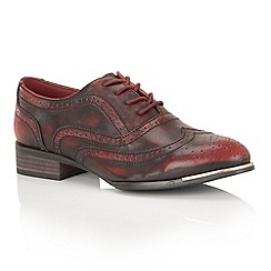 Dolcis - Ox Blood 'Casey' brogues