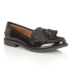 Dolcis - Black Patent 'Dorset' loafers