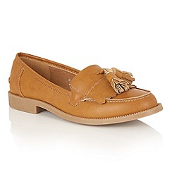 Dolcis - Tan Matte 'Dorset' loafers