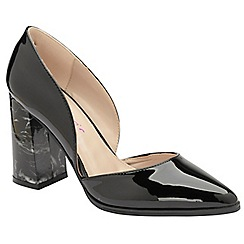 Dolcis - Black 'Bertina' high block heeled shoes