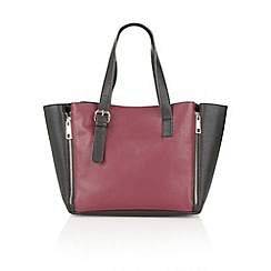 Ravel - Purple/black 'Daytona' ladies handbag
