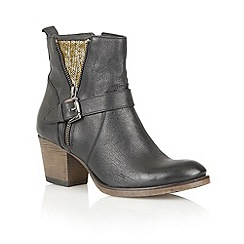 Ravel - Black 'Delaware' leather ankle boots
