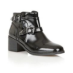 Ravel - Black 'Maine' leather ankle boots