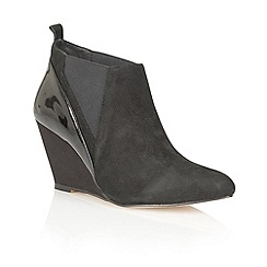 Ravel - Black 'Indiana' suede ankle boots
