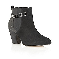 Ravel - Black 'Kentucky' suede leather ankle boots